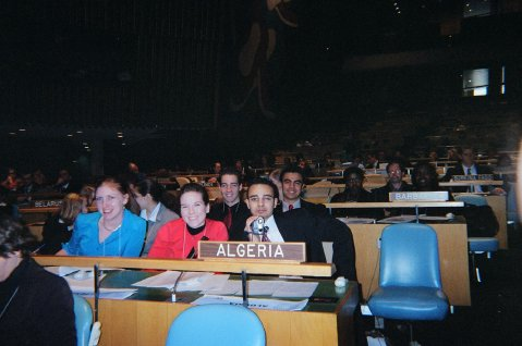 Algeria-student