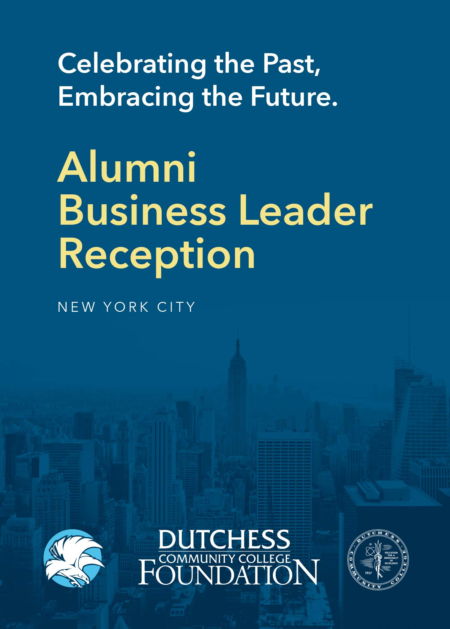 Alumni Business Leader Reception invite