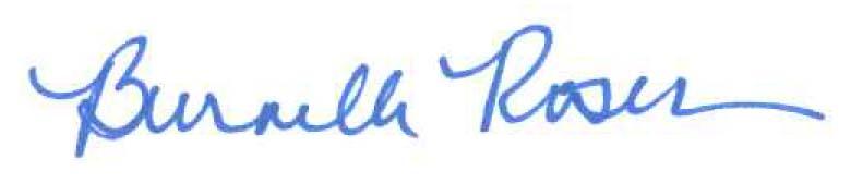 Burnelle Roser signature